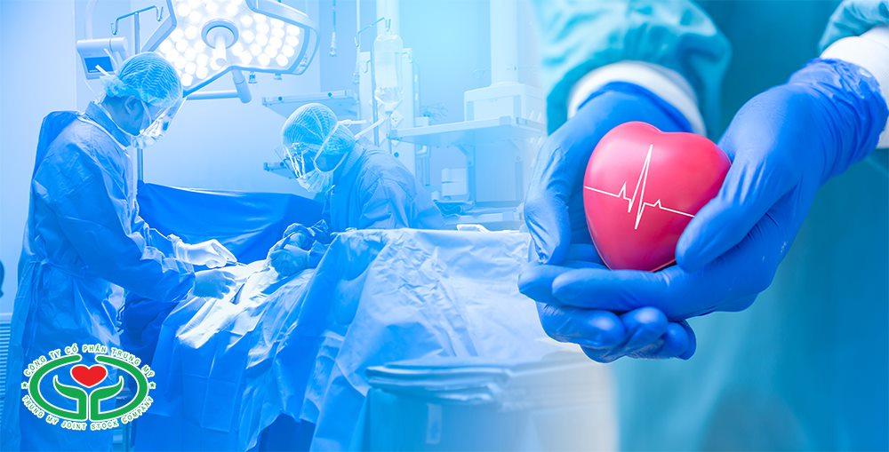 Phẫu thuật được tiến hành để điều trị nguyên nhân gây suy tim toàn bộ