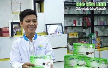 Hòa Hãn Linh là sản phẩm hỗ trợ trị mồ hôi được các nhà thuốc lựa chọn