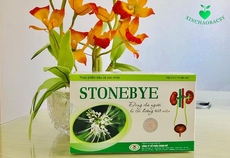 Sản phẩm Stonebye dưới góc nhìn và đánh giá của chuyên gia tiết niệu