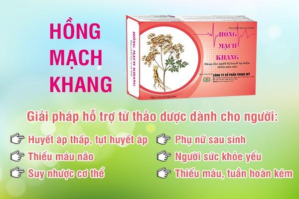 TPCN Hồng Mạch Khang và 5 ưu thế vượt trội!