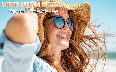 Đeo kính và nón chống nắng là cách chăm sóc mắt hữu hiệu