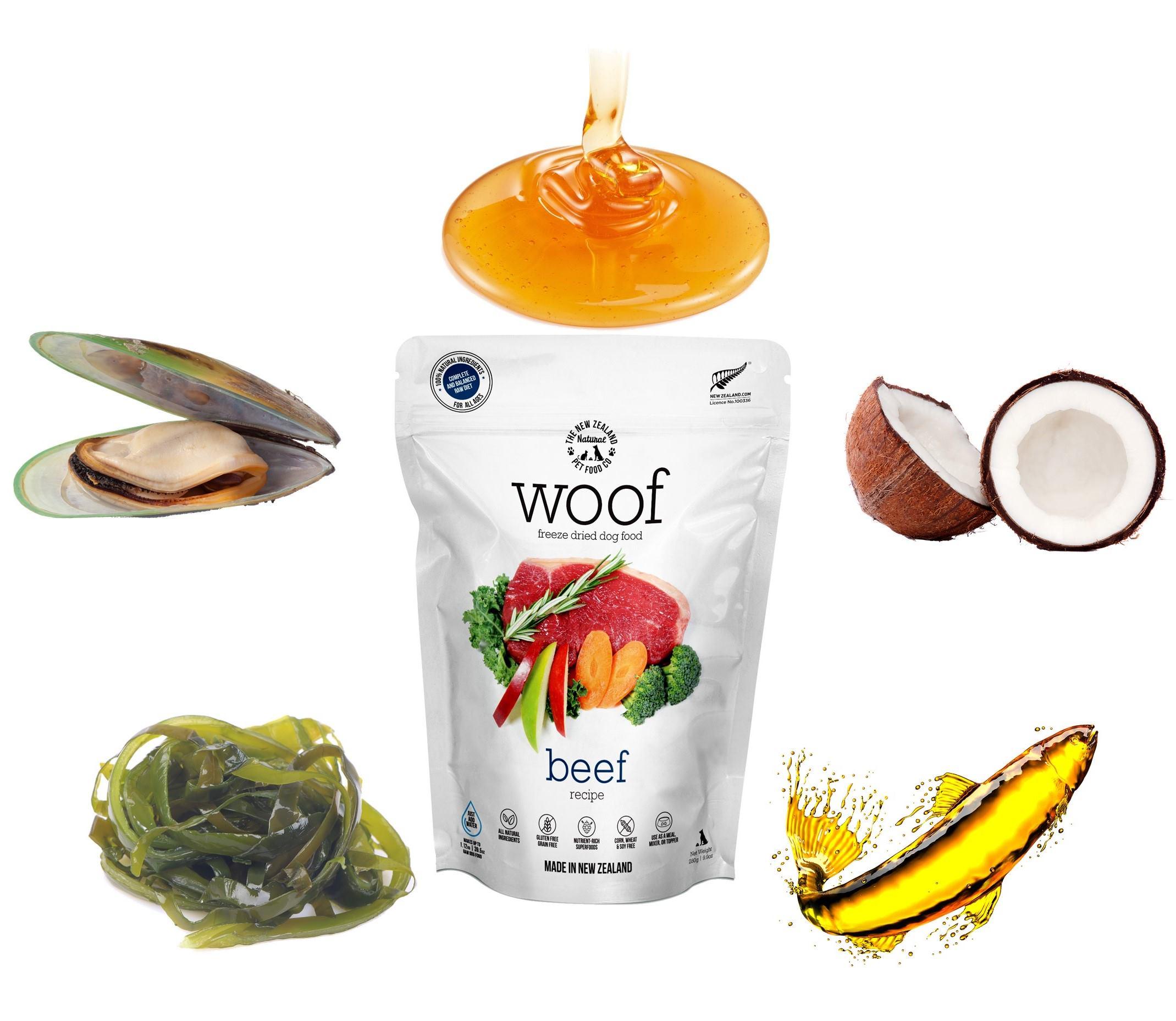 WOOF 愛犬の健康をサポートする栄養成分が充実│無添加ドッグフードのBAUWAW公式通販