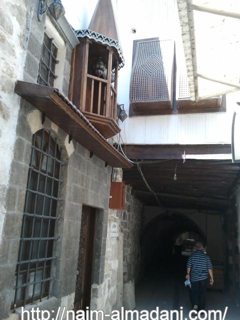 مجموعة من الصور دمشق القديمة القيمرية ترميم مسجد مصلى العرب