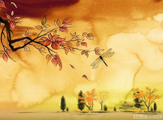 芙蓉花仙老师单图【聆听风的呻吟】教程·素材 - 梦中情 - 梦中情网易博客