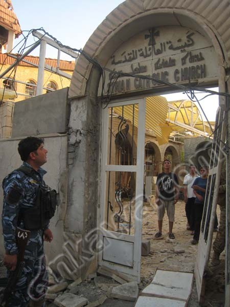 catholic church bombed in iraq 2