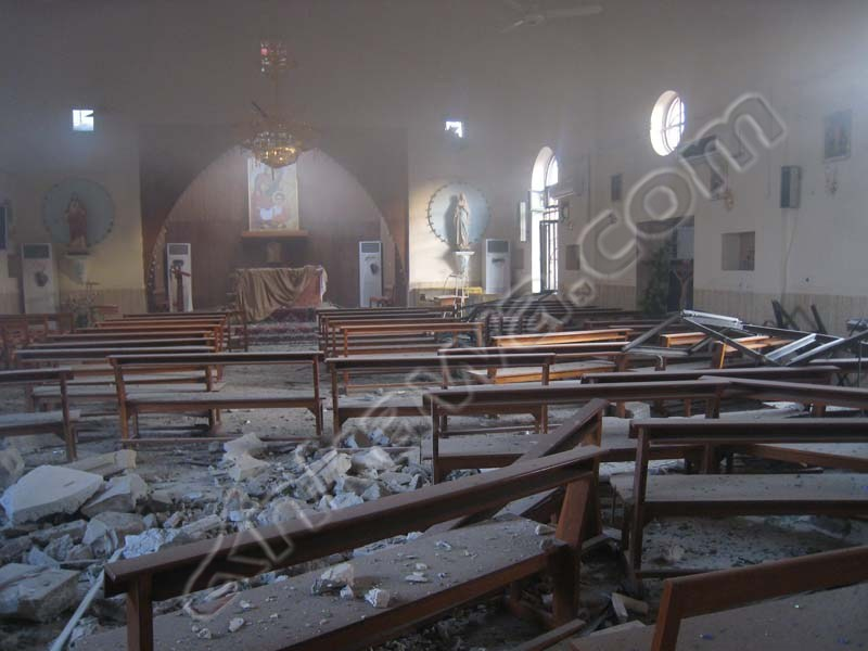 catholic church bombed in iraq